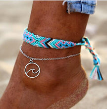 Load image into Gallery viewer, Vintage OM Rune Weave Anklets 2 PCS/Set