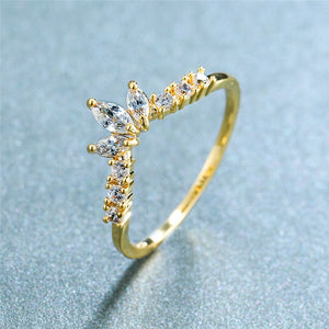 Cute Crystal Stone Ring