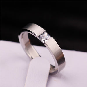 Mens Stainless Wedding Band Ring
