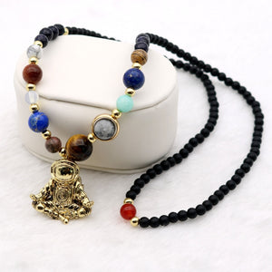Solar System Spaceman Necklace