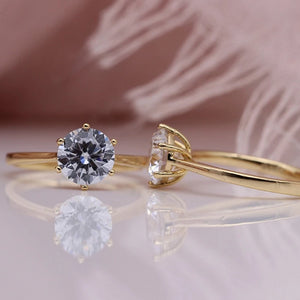 Estate Heirloom Engagement Ring