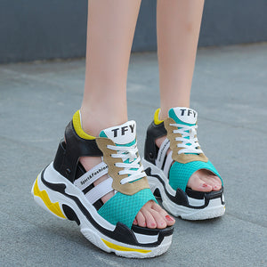 Chunky Summer Sneaker Sandals