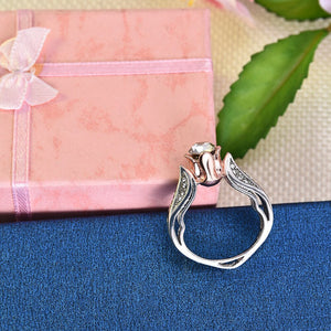 Trendy Exquisite Rose Floral Ring