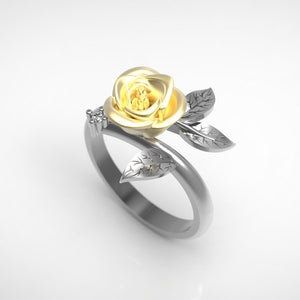 Delicate Vintage Flower Ring