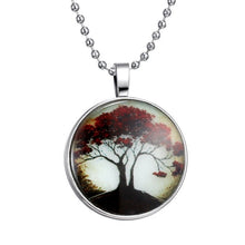 Load image into Gallery viewer, Glow In The Dark Tree Of Life Necklace
