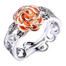 Load image into Gallery viewer, Rose Flower Ring