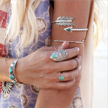 Load image into Gallery viewer, Bohemian Arrow Bangle