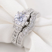 Load image into Gallery viewer, Iced Out Wedding Ring