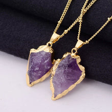 Load image into Gallery viewer, Precious Gem Pendant Necklace