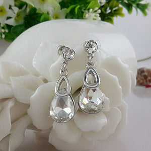 Earrings Silver Plated