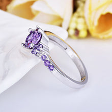 Load image into Gallery viewer, February  Amethyst Birthstone Ring