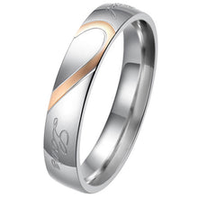 Load image into Gallery viewer, Heart Wedding Band