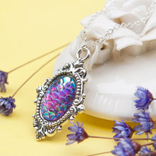 Load image into Gallery viewer, Mermaid Scale Necklace