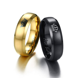 Queen And King Ring