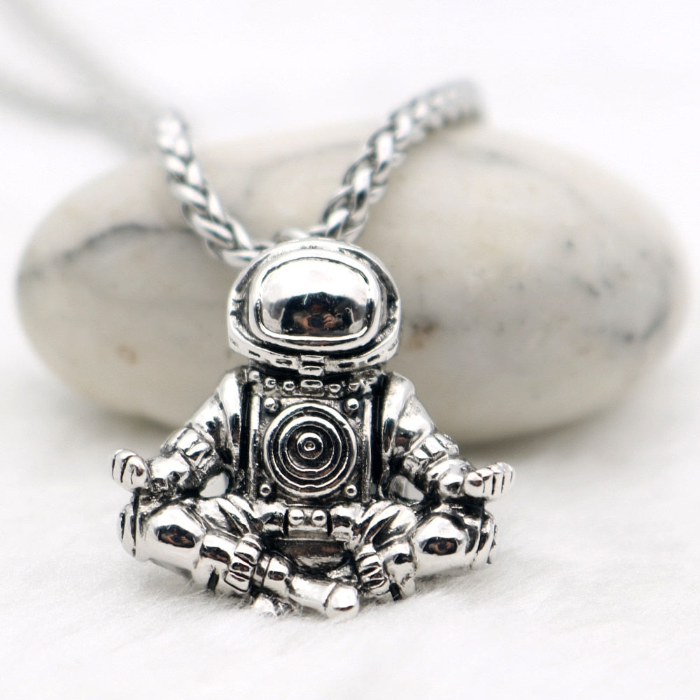 Zen Spaceman Necklace