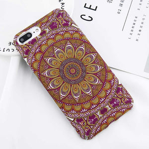 Mandala Phone Cases For Iphone X 8 7 6 6S Plus