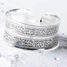 Load image into Gallery viewer, Sterling Silver Boho Cuff