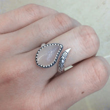 Load image into Gallery viewer, Paisley Wrap Ring - 925 Silver