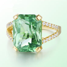 Load image into Gallery viewer, Tourmaline Crystal Gems Ring