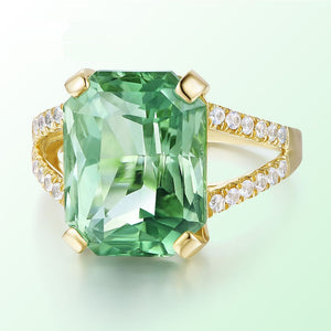Tourmaline Crystal Gems Ring