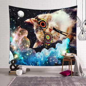 Hippie Tapestry For lover Cat