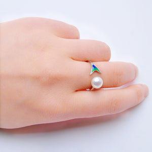 The Mermaid Tail Ring