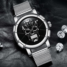 Load image into Gallery viewer, Skull Watch