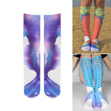 Load image into Gallery viewer, Mermaid Long Socks