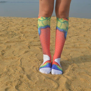 Mermaid Long Socks