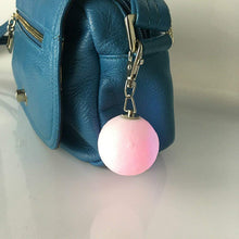 Load image into Gallery viewer, 3D Printed Moon Lamp Keychain