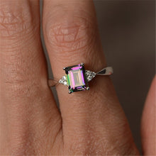 Load image into Gallery viewer, Rainbow Engagement Ring