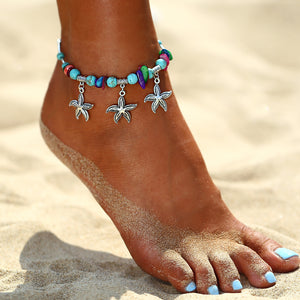 The Bohemian Starfish Anklet