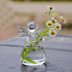 Angel flower pot
