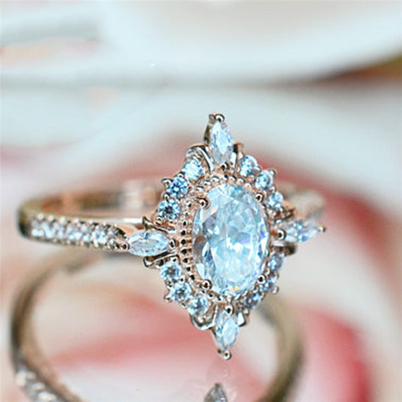 Vintage Crystal Ring