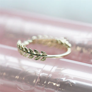 Cute Leaf Ring