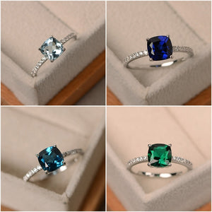 Luxury Crystal Stone Rings