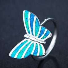 Load image into Gallery viewer, The Opal Butterfly Ring