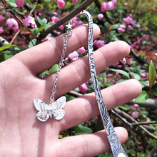 Load image into Gallery viewer, Magical Glow In The Dark Dragonfly Bookmark