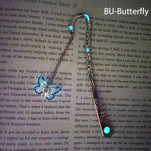 Magical Glow In The Dark Dragonfly Bookmark