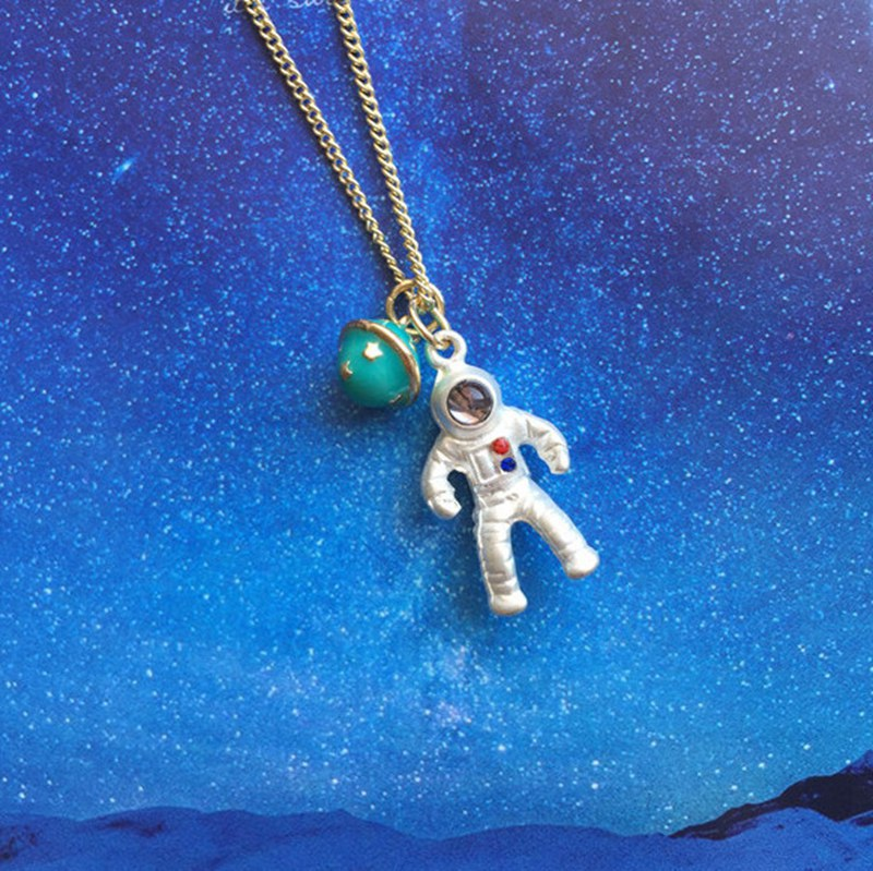 The Spaceman Necklace