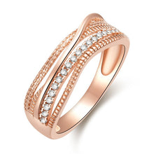 Load image into Gallery viewer, Rose Gold Twist Ring