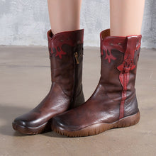 Load image into Gallery viewer, The Cowboy Boho Flat Boots