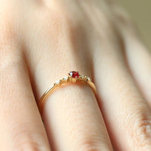 Load image into Gallery viewer, Crystal Engagement Ring