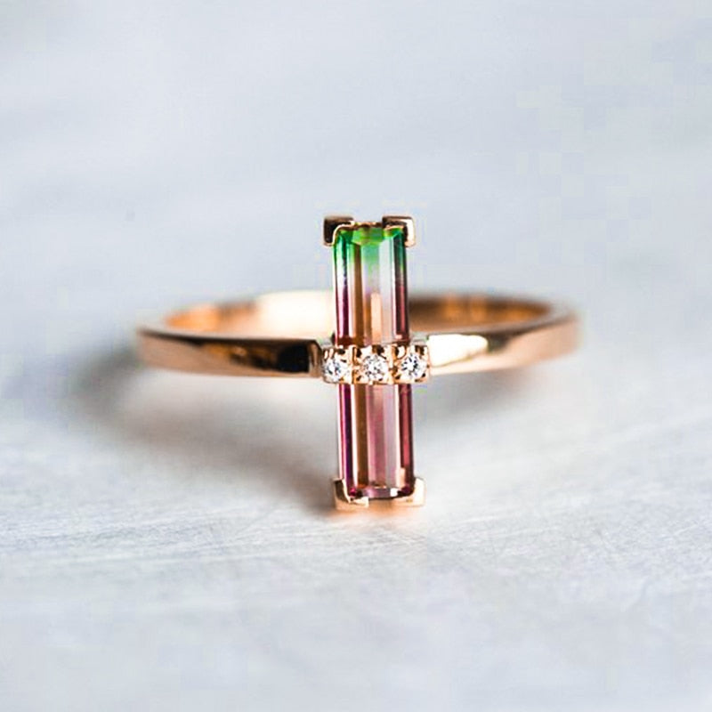 Lovely Rose Gold Ring