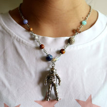 Load image into Gallery viewer, Handmade Solar System Spaceman Pendant