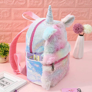 Rainbow Plus Unicorn Backpack