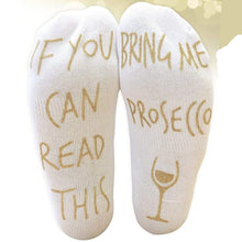 Load image into Gallery viewer, Prosecco Socks