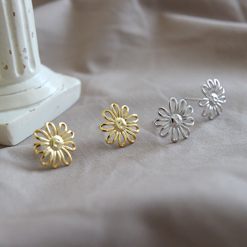 Sun Flower Stud Earring