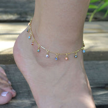 Load image into Gallery viewer, bohemian charm anklet