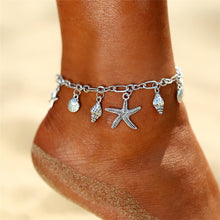 Load image into Gallery viewer, Vintage  Starfish Anklet